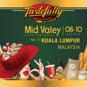 26. [08 - 10 Nov] TASTEFULLY FOOD AND BEVERAGE EXPO, Mid Valley